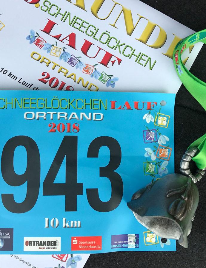 10 km – Schneeglöckchenlauf in Ortrand